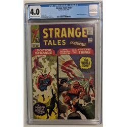 "1965 ""Strange Tales"" Issue #133 Marvel Comic Book (CGC 4.0)"