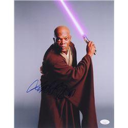 "Samuel L. Jackson Signed ""Star Wars"" 11x14 Photo (JSA COA)"