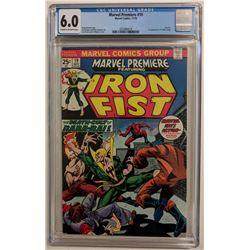 "1974 ""Marvel Premiere"" Issue #19 Marvel Comic Book (CGC 6.0)"