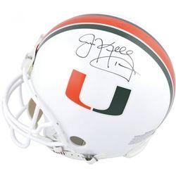 Jim Kelly Signed Miami Hurricanes Full-Size Authentic On-Field Helmet (Fanatics Hologram)