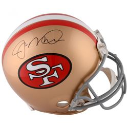 Joe Montana Signed San Francisco 49ers Full-Size Authentic On-Field Helmet (Fanatics Hologram)