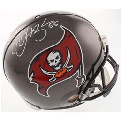 Derrick Brooks Signed Tampa Bay Buccaneers Full-Size Authentic On-Field Helmet (JSA COA)