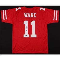 "Andre Ware Signed Jersey Inscribed ""89 Heisman"" (Radtke COA)"