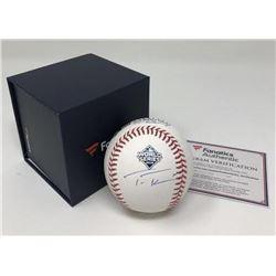 Trea Turner Signed 2019 World Series Baseball (Fanatics Hologram)