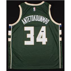 Giannis Antetokounmpo Signed Milwaukee Bucks Jersey (Radtke COA)