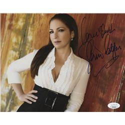 Gloria Estefan Signed 8x10 Photo with Inscription (JSA COA)