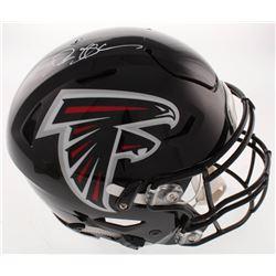 Deion Sanders Signed Atlanta Falcons Full-Size Authentic On-Field SpeedFlex Helmet (Beckett Hologram