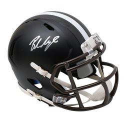 Baker Mayfield Signed Cleveland Browns Matte Black Speed Mini Helmet (Beckett COA)