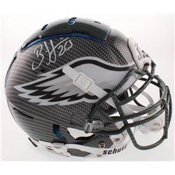 Brian Dawkins Signed Philadelphia Eagles Full-Size Authentic On-Field Hydro-Dipped F7 Helmet (JSA CO