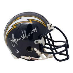 Lance Alworth Signed San Diego Chargers Mini Helmet (Beckett COA)