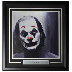 "Joaquin Phoenix LE ""Arthur"" 22x23 Custom Framed Print Display"