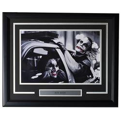 "Joaquin Phoenix  Heath Ledger LE ""Joy Ride"" 19x23 Custom Framed Print Display"