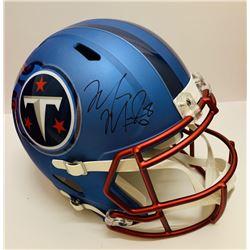 Marcus Mariota Signed Tennessee Titans Full-Size Blaze Speed Helmet (JSA LOA)