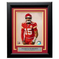 Patrick Mahomes Chiefs 11x14 Custom Framed Photo Display
