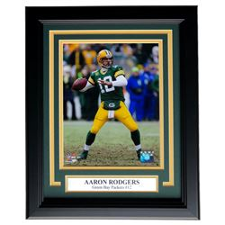 Aaron Rodgers Packers 11x14 Custom Framed Photo Display