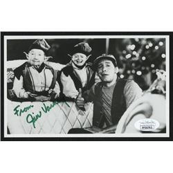 "Jim Varney Signed ""Ernest Saves Christmas"" 4x6.5 Photo Inscribed ""From"" (JSA COA)"