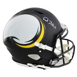 Adam Thielen Signed Minnesota Vikings Full-Size Authentic On-Field Speed AMP Helmet (Radtke COA)