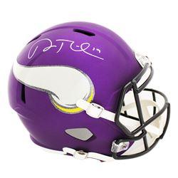 Adam Thielen Signed Minnesota Vikings Full-Size Speed Helmet (Radtke COA)
