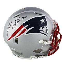 Josh Gordon Signed New England Patriots Full-Size Authentic On-Field Speed Helmet (JSA COA)