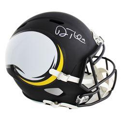 Adam Thielen Signed Minnesota Vikings Full-Size Speed AMP Helmet (Radtke COA)