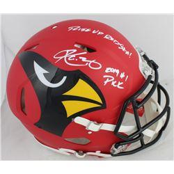 Kyler Murray Signed Arizona Cardinals Full-Size AMP Alternate Speed Authentic On-Field Helmet Inscri