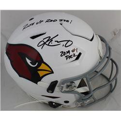 "Kyler Murray Signed Arizona Cardinals Full-Size SpeedFlex Authentic On-Field Helmet Inscribed ""Rise"