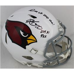 """Kyler Murray Signed Arizona Cardinals Full-Size Authentic On-Field Speed Helmet Inscribed """"2019 #1 P"""