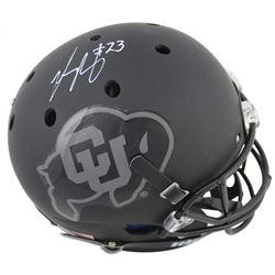 Phillip Lindsay Signed Colorado Buffaloes Full-Size Helmet (JSA COA)
