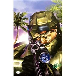 "Greg Horn Signed ""Halo - Sharpshooter"" 11x17 Lithograph (JSA COA)"