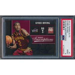 2012-13 Elite Rookie Inscriptions #1 Kyrie Irving (PSA 9)