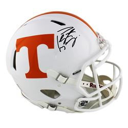 Peyton Manning Signed Tennessee Volunteers Full-size Authentic On-Field Speed Helmet (Fanatics Holog