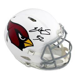 Edgerrin James Signed Arizona Cardinals Full-Size Authentic On-Field Speed Helmet (Radtke COA)