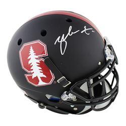 Zach Ertz Signed Stanford Cardinal Full-Size Authentic On-Field Helmet (Radtke COA)