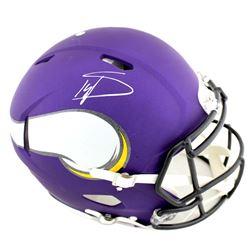 Stefon Diggs Signed Minnesota Vikings Full-Size Authentic On-Field Speed Helmet (Radtke COA)
