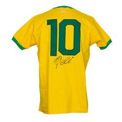 Pele Signed Jersey (PSA COA)