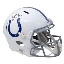 Jacoby Brissett Signed Colts Full-Size Speed Helmet (JSA COA)