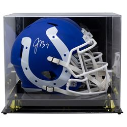 Jacoby Brissett Signed Indianapolis Colts Full-Size AMP Alternate Speed Helmet with High-Quality Dis