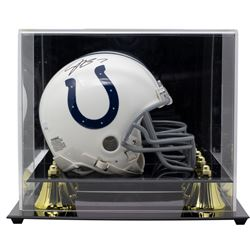 Jacoby Brissett Signed Indianapolis Colts Mini Helmet with High-Quality Display Case (JSA COA)