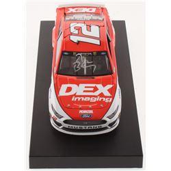 Ryan Blaney Signed NASCAR #12 DEX Imaging 2019 Mustang - 1:24 Premium Action Diecast Car (PA COA)