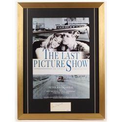 "Peter Bogdanovich Signed ""The Last Picture Show"" 18x24 Custom Framed Cut Display (JSA COA)"