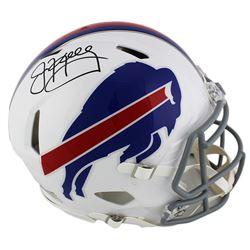 Jim Kelly Signed Buffalo Bills Full-Size Authentic On-Field Speed Helmet (Radtke COA)