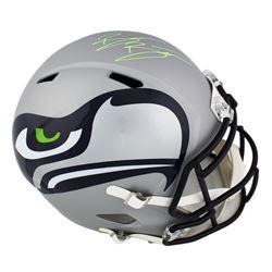 Brian Bosworth Signed Seattle Seahawks Full-Size Speed Helmet (Radtke COA)