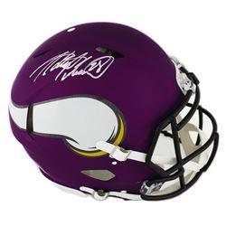 Adrian Peterson Signed Minnesota Vikings Full-Size Authentic On-Field Speed Helmet (Radtke COA)