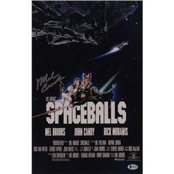 "Mel Brooks Signed ""Spaceballs"" 11x17 Photo (Beckett COA)"