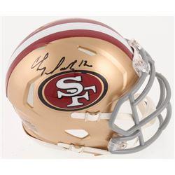 Chris Doleman Signed San Francisco 49ers Speed Mini Helmet (Radtke COA)