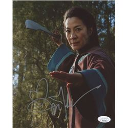 "Michelle Yeoh Signed ""Crouching Tiger, Hidden Dragon"" 8x10 Photo (JSA COA)"