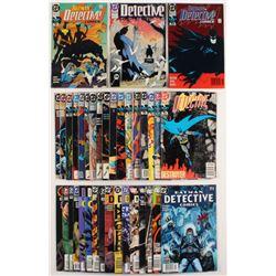 "Lot of (36) 1989-2008 ""Batman"" 1st Series DC Comic Books"