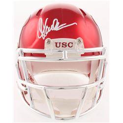Marcus Allen Signed USC Trojans Chrome Speed Mini Helmet (Radtke COA)