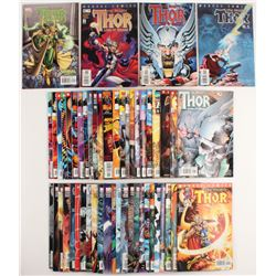 """Lot of (51) 1998-2004 """"The Mighty Thor"""" 2nd Series DC Comic Books"""