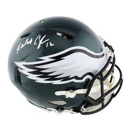 Randall Cunningham Signed Philadelphia Eagles Full-Size Speed Helmet (Radtke COA)